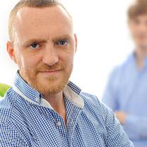 Geschäftsführer der Internetagentur 2crossmedia für den Bereich Softwarte Arno Faßbender