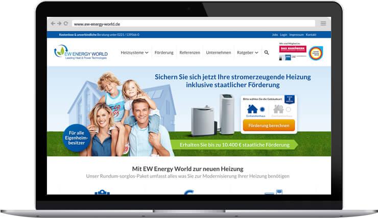 EW Energy World Relaunch