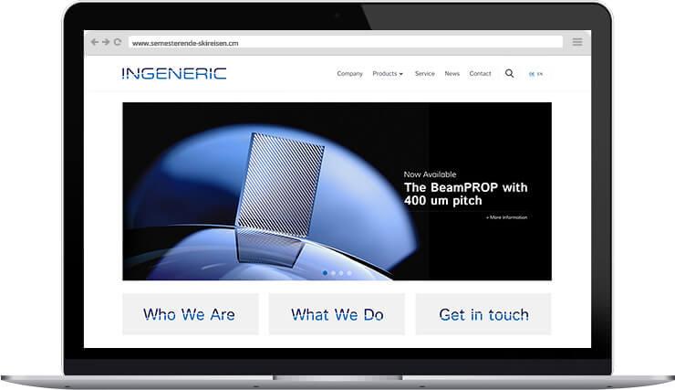 Webdesign Ingeneric