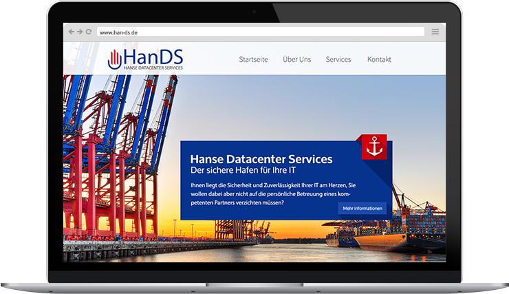 Responsive Webdesign für die HanDS