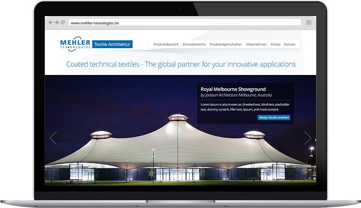 Mehler Texnologies - Webdesign inklusive Ingeration in das Content-Management-System  Weblication