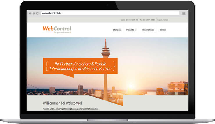 Responsive Webdesign Webcontrol