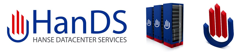 Logo und 3D-Grafiken für die Hanse Datacenter Services GmbH