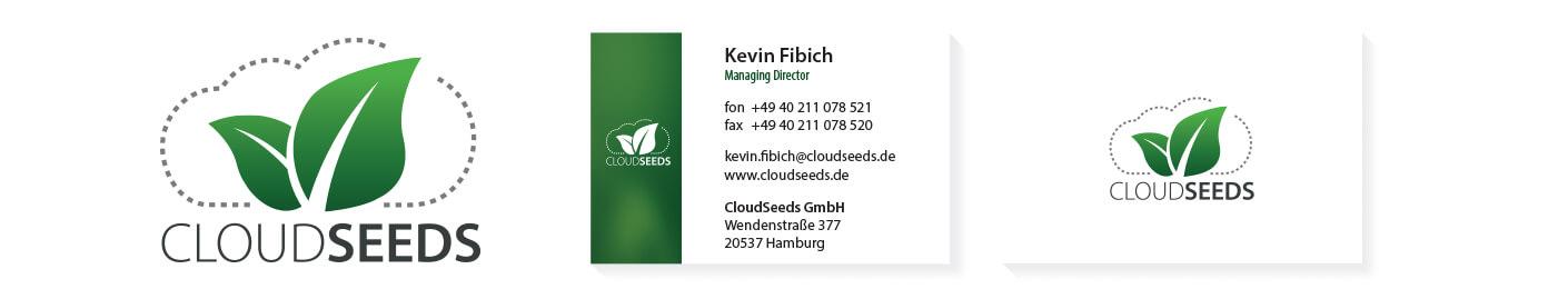Cloudseeds Logo & Visitenkarten