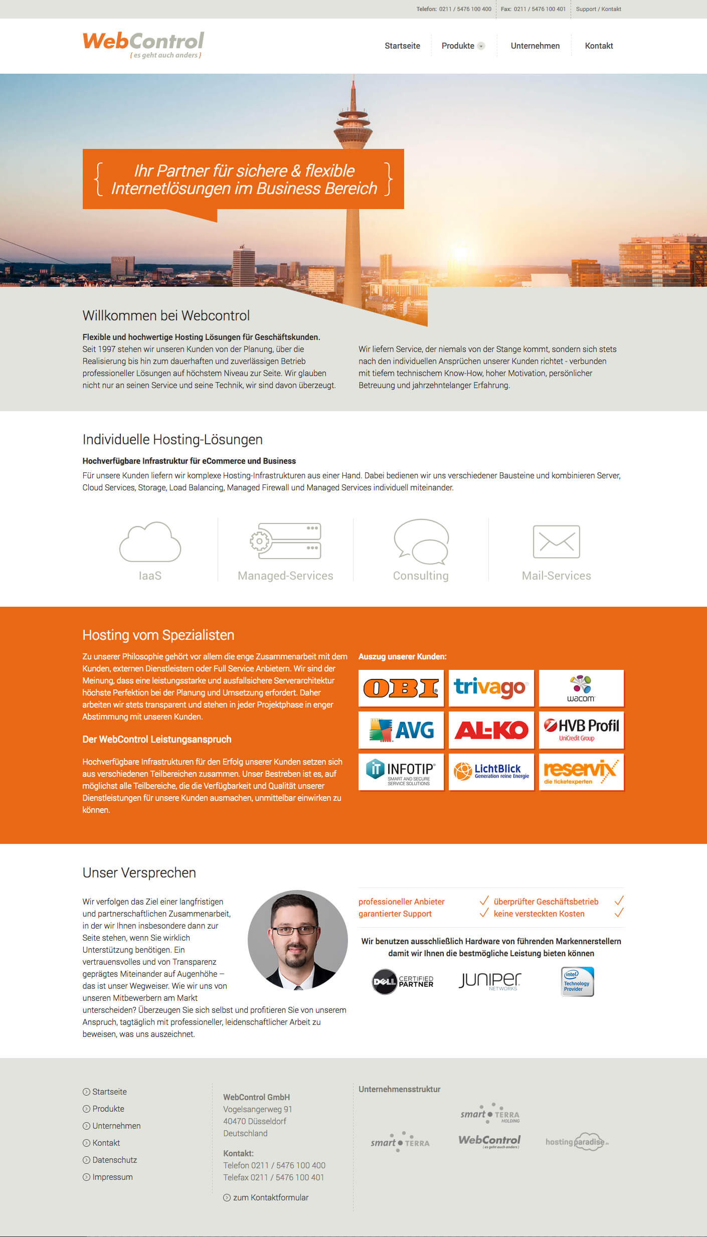 Webdesign Webcontrol GmbH