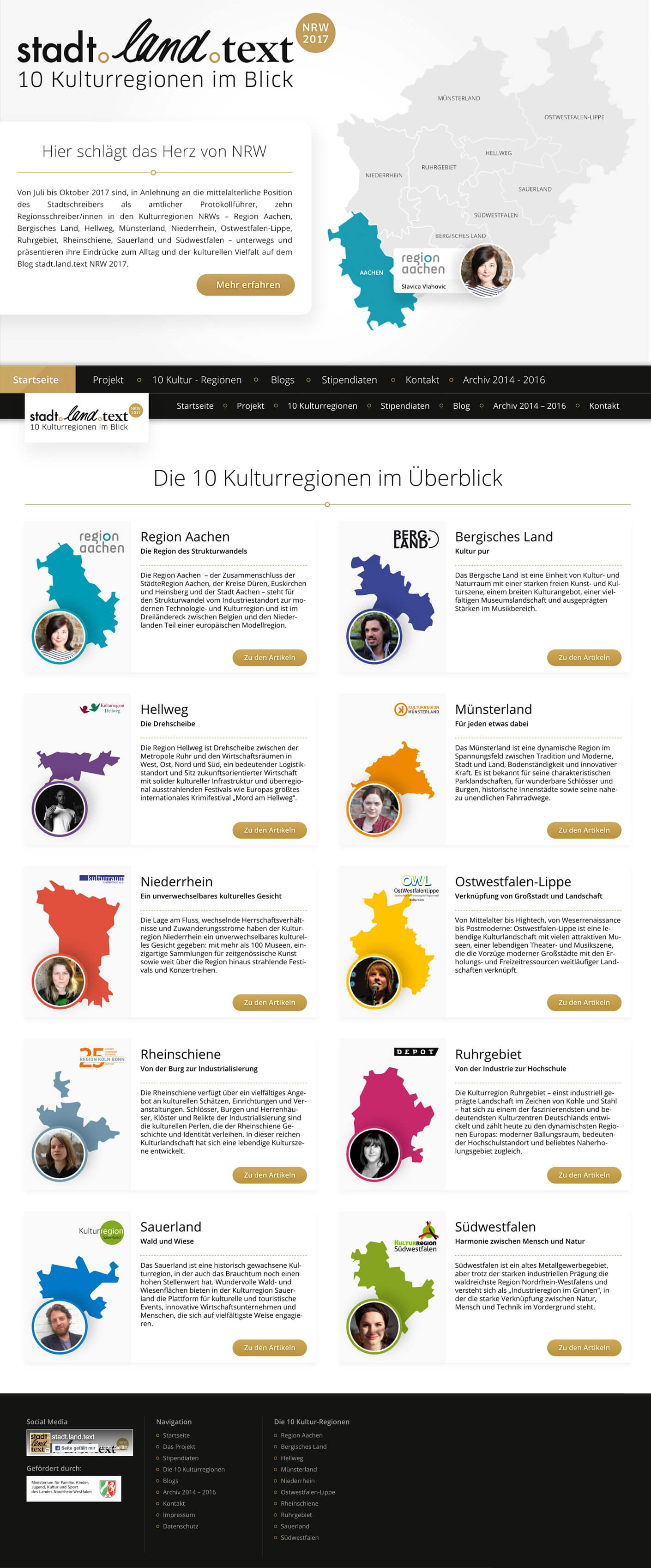 Webdesign von www.stadt-land-text.de